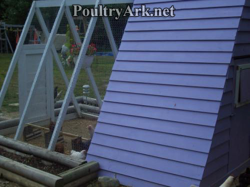 Poultry Ark back view