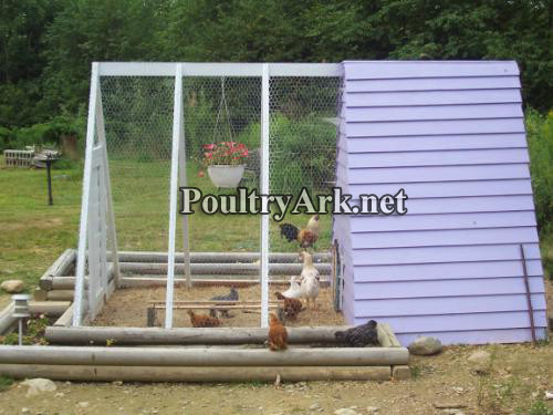 Poultry Ark side view